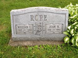 William Edward Bill Rope