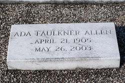 Ada <i>Faulkner</i> Allen