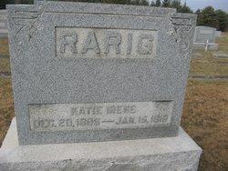 Katie Irene <i>Billig</i> Rarig