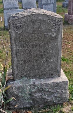 Edith <i>Pailthorpe</i> Holmes