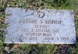 PFC Archie Spurgeon Bishop