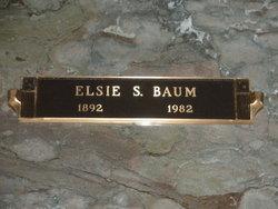 Elsie S Baum