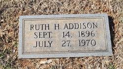 Ruth H. Addison