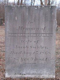 Hannah Rachel <i>Chatfield</i> Sickler