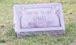 Jennie <i>Clyde</i> Carley