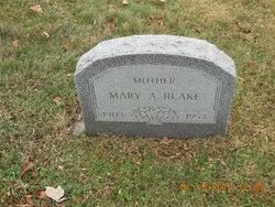 Mary Ann <i>Holmes</i> Blake