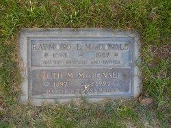 Ruth M <i>Reynolds</i> Macdonald