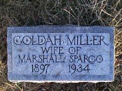 Goldah M. <i>Miller</i> Spargo