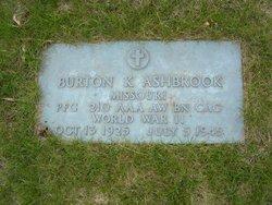 PFC Burton K Ashbrook