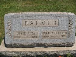 Bertha <i>Scherer</i> Balmer