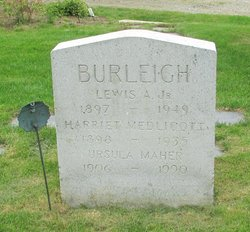 Harriet <i>Medlicott</i> Burleigh
