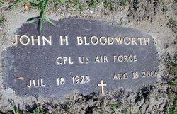 John Henry Bloodworth, Sr