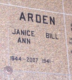Janice Ann <i>Greenlee</i> Arden