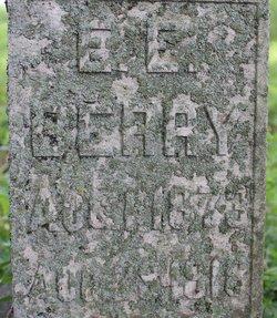 Edward Eugene Eddie Berry