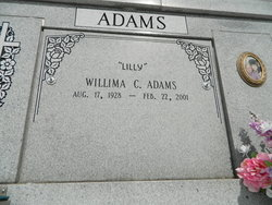 Willima Marie Lilly <i>Cheramie</i> Adams