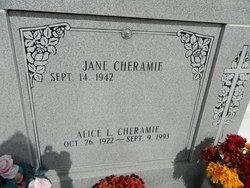 Alice <i>Lefort</i> Cheramie