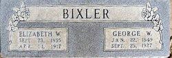 Elizabeth W. Bixler