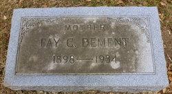 Fay Cavitt <i>Hall</i> Dement