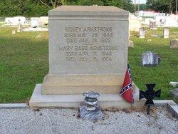 Mary <i>Babb</i> Armstrong