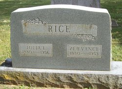 Julia <i>Murray</i> Rice