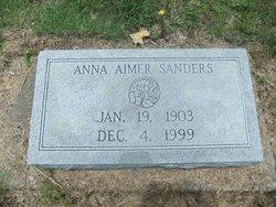 Anna Isabella <i>Aimer</i> Sanders