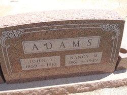 Nancy M Adams
