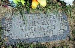 Violet Waneta <i>Jeffries</i> Bluitt