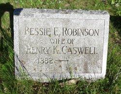 Bessie E. <i>Robinson</i> Caswell