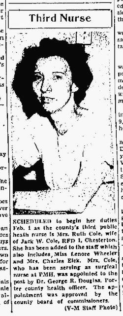 Ruth Lucille <i>Rosenow</i> Cole