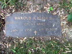 Harold Alexander Baber, Sr