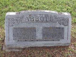Mattie <i>Wells</i> Abbott