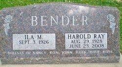 Harold Ray Bender