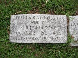 Rebecca Fenton Starr <i>King</i> Holcomb