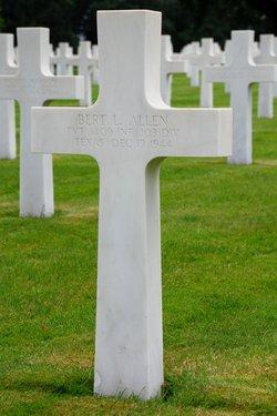 Pvt Bert L Allen