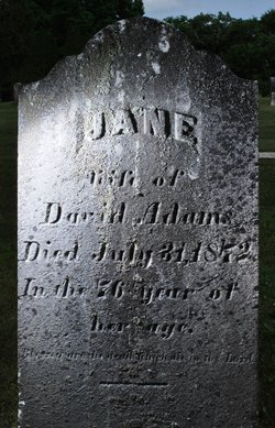 Jane <i>McClarren</i> Adams
