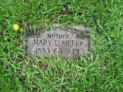 Mary L <i>Weber</i> Kiefer
