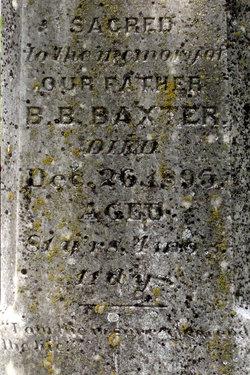 Rev Benjamin Burdick Baxter