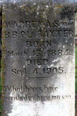 Warren A Baxter