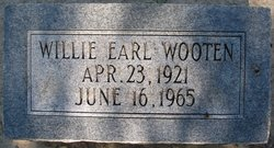Willie Earl Wooten