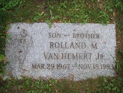 Rolland M VanHemert, Jr