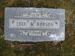 Lulu M <i>Bronson</i> Robson