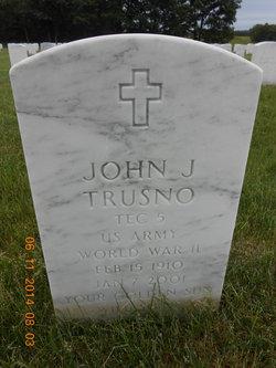John J Trusno