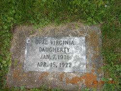 Opal Virginia Daugherty