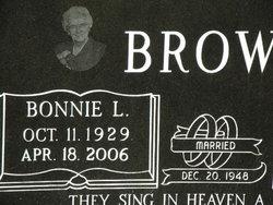 Bonnie Lou <i>Arney</i> Brown