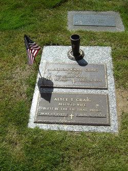 Alyce Y Craig