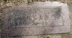 Mae Gertrude Allen
