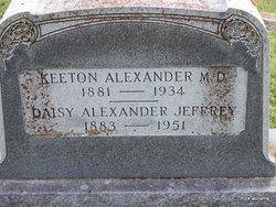 Daisy <i>Jeffrey</i> Alexander