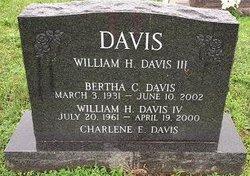 Bertha C Davis