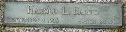 Harold LeRoy Barto