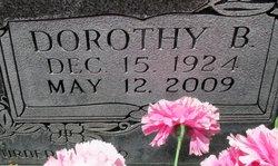 Dorothy B Earp